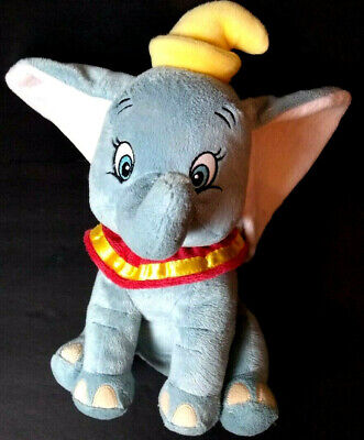 """Disney Dumbo Baby Soother Timer Nursery Plush Crib Hanger Toy 13"""" Sound Therapy"""