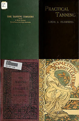 120 Rare Books On Leather Work, Hides, Fur,Skins,Tanning, Dyeing,Staining On Dvd