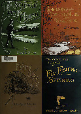 160 Rare Books On Fly Fishing, Tying, Angling, Salmon, Trout, Flies, Rod On Dvd