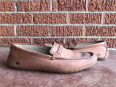 a480add201ae Lacoste Concours Driving Shoe   Slip on Loafer   Moc. US Mens Size 10.5  Suede