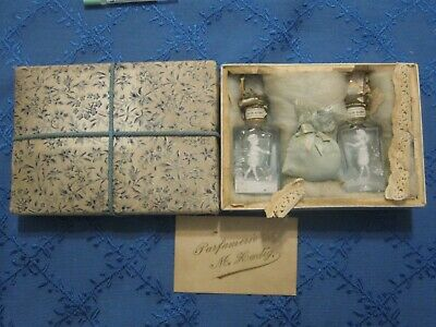 Mary Gregory Perfume bottles