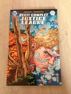 Magazine Urban DC Comics - Justice League Récit Complet 3 - Aquaman - TBE