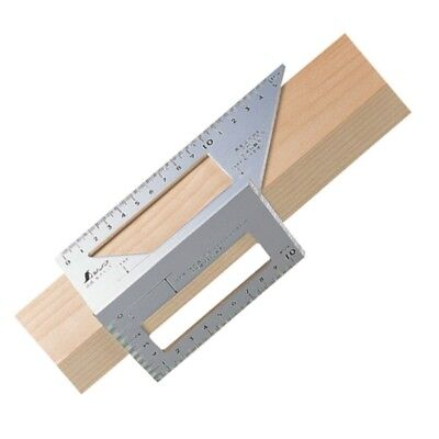 Shinwa Japanese Aluminum Saddle Layout Gauge Square 62113 Free Shipping