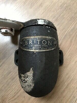 Retro Briton Door Closer Reclaimed Old Made In Sheffield Removed From Old School