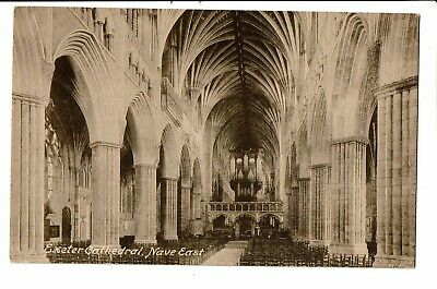 CPA-Carte postale-  Royaume Uni - Exeter -Cathedral Nave east-VM2295