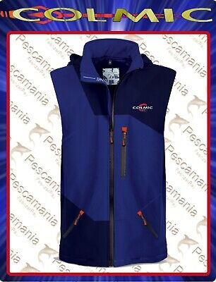 "Gilet softshell Colmic ""OFFICIAL TEAM"" impermeabile traspirante windstop"