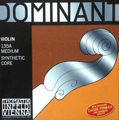 Thomastik-Infeld Dominant Violin Set 135A 4/4 Synthetic Core Medium Full Set