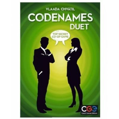 Codenames: Duet - 2 player Game by Czech Games - Brand new and sealed