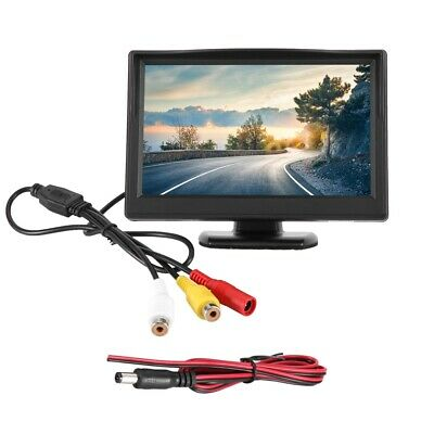 """5"""" AHD LCD 4 Channel Car Driving Recorder Monitor Reverse Rear View Monitor"""