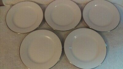 Noritake Ivory Affection set of 5 bread and butter plates