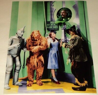 WIZARD OF OZ /  LOVELY  8 x 10  COLOR  PHOTO