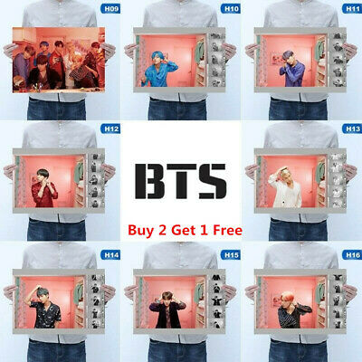 BTS Poster Hanging Painting All Members MAP OF THE SOUL PERSONA Wall Poster UK