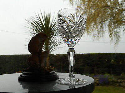 "Edinburgh Crystal  ROYAL  6 1/8""  WINE glass OR glasses"