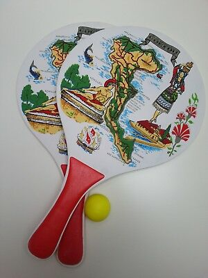 Deluxe Paddles Not Table Tennis Bats Mr And Mrs Game Laser Cut Black Hen Do