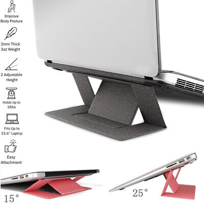 Portable Silm Laptop Stand Holder Foldable For MacBook Pro Air Computer Support