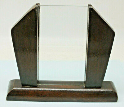 Genuine Vintage Wooden Freestanding Art Deco Photo Frame Oak 1930s