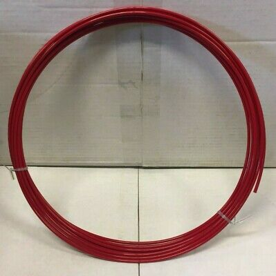 """Alloy Wheel Protector (Rim-Pro Tec) 4X14""""-22"""" Red (Replacement Inners Only)"""