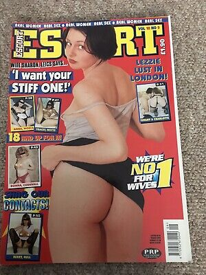 Vintage Escort Magazine,  Vol 18 No:9 (1998), Adults Only.