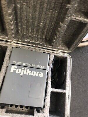 Fujikura Fsm-20Csii Arc Fusion Splicer With Case