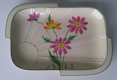 J.h. Weatherby - Falcon Ware - Art Deco Hand Painted Dish - Hanley England