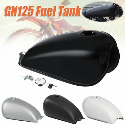 Cafe Racer Gas Tank Universal Iron Fuel Tank BOBBER For Suzuki GN125 GN250 Bl~¥#