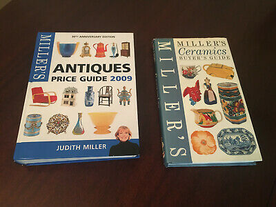 Millers Antiques 2009 & Millers Ceramics VGC Two Books