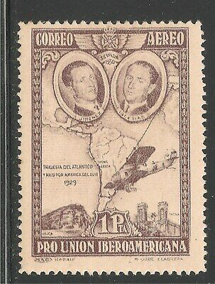 Spain #C55a (AP19) VF MINT LH - 1930 1p Ignacio Jimenez and Francisco Iglesias