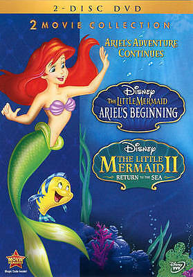 The Little Mermaid II and Ariel's Beginning 2-Movie Collection (2-Disc DVD) by