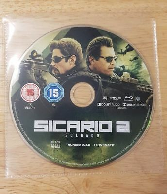 Sicario 2 Soldado Blu-Ray Disc Only Brand New Never Watched