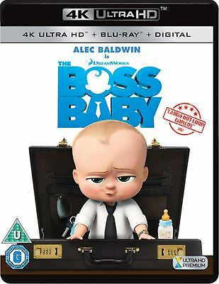 The Boss Baby 4K Uhd Blu-Ray One Disc Movie & Case Only