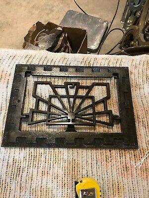 J J Decorative Cast-Iron Heating great face 95 /8 x 13 5/8