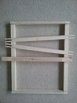 Weaving loom/frame 50cms x 60cms . 7.5mm spacing