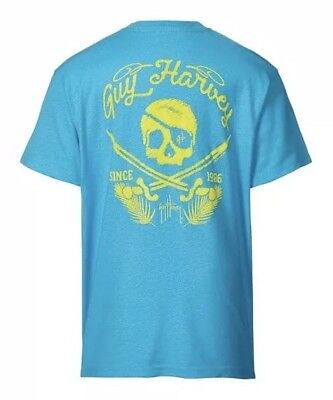 caae1b78 Guy Harvey Boys' Brakeman Short Sleeve T-Shirt Boys Classic Fit Size Large L