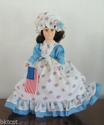 """Effanbee Doll  """"BETSY ROSS"""" 12"""" Women of the Ages Collection - OriginalTag"""