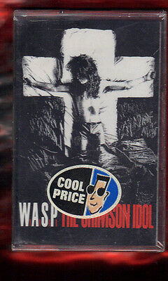W.a.s.p.-The Crimson Idol Musicassetta Mc Mc7 K7 New Sealed
