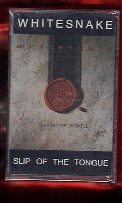 Whitesnake-Slip Of The Tongue  Musicassetta Mc Mc7 K7 New Sealed