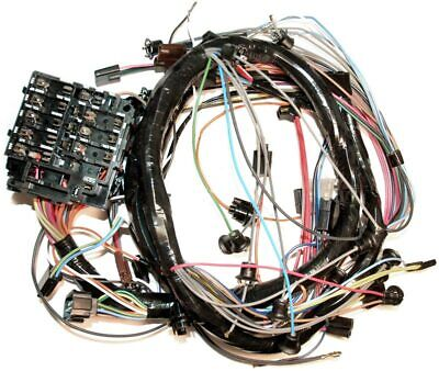 1971 corvette c3 dash wiring harness with air conditioning 697151