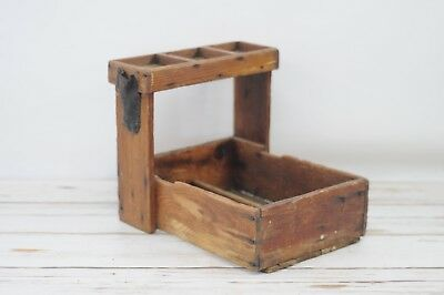 Antique Primitive Wood Farriers Tool Box Farriers Handmade Wood Box AAFA #2