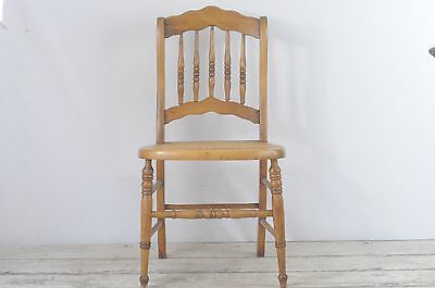 Antique Childs Victorian Chair With Cane Seat Small Wood Chair Childs Chair