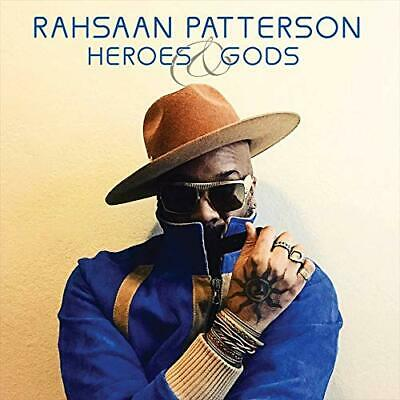 Rahsaan Patterson	- Heroes & Gods CD ALBUM NEW (16TH MAY)