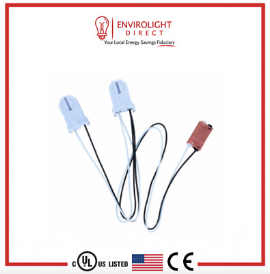 50 Non Shunted Ul Listed T8 Lamp Holder Tombstone Sockets Led