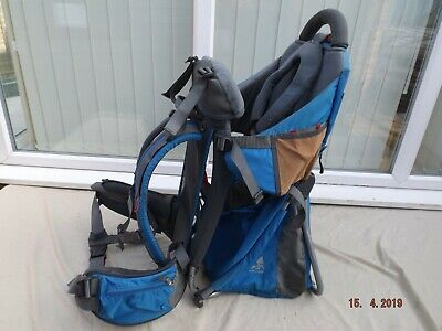 Vaude Baby Backpack Carrier,padded Straps,adjustable Seat,toddler,clean,g/c