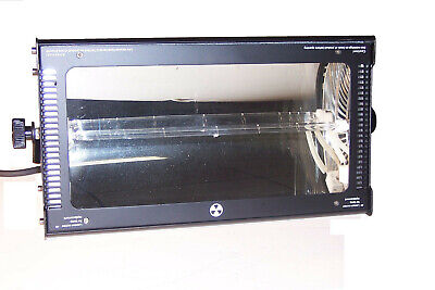Strobe Light Atomic 3000 DMX 220 volt New in Box- no plug on power cable