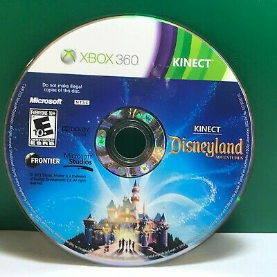 Kinect Disneyland Adventures (Xbox 360) Disc Only 18914