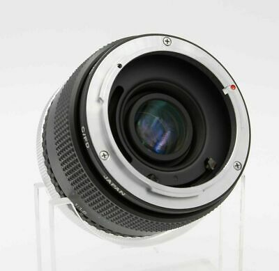 Vivitar 2x Macro Focusing Teleconverter MC for Canon FD Close-Up Adapter Vintage