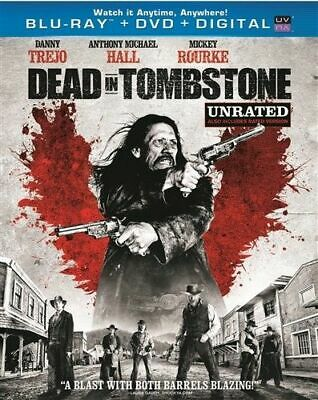 Dead in Tombstone Blu-Ray + (DVD + Digital, 2013) s Unrated New Dany Trejo