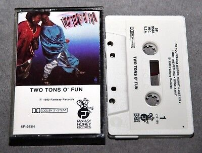 Two Tons O' Fun (the weather girls / martha wash) of. CASSETTE TAPE Rare Vintage