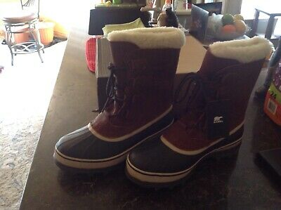 Sorel Mens Boots Caribou Wl Size 10 Waterproof -40 Brand New In Box!