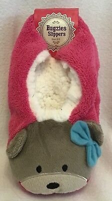 Ladies/Girls Slippers - Size 3-5 - Pink - Brand New