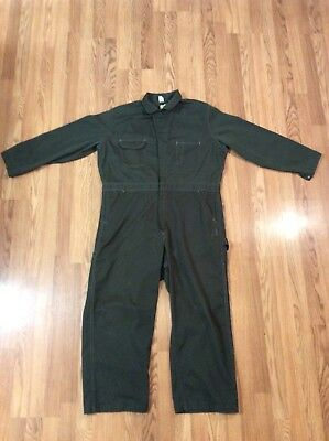 Vintage Blue Bell Green Coveralls Size Small Mens Work Wear